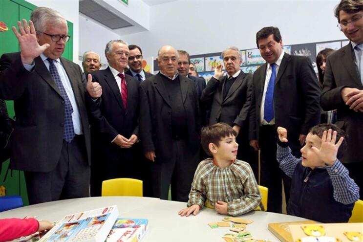 Eduardo Cabrita visitou Escola de Penela