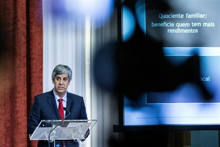 Ministro das Finanças apresentou, esta sexta-feira, as principais linhas do OE 2016