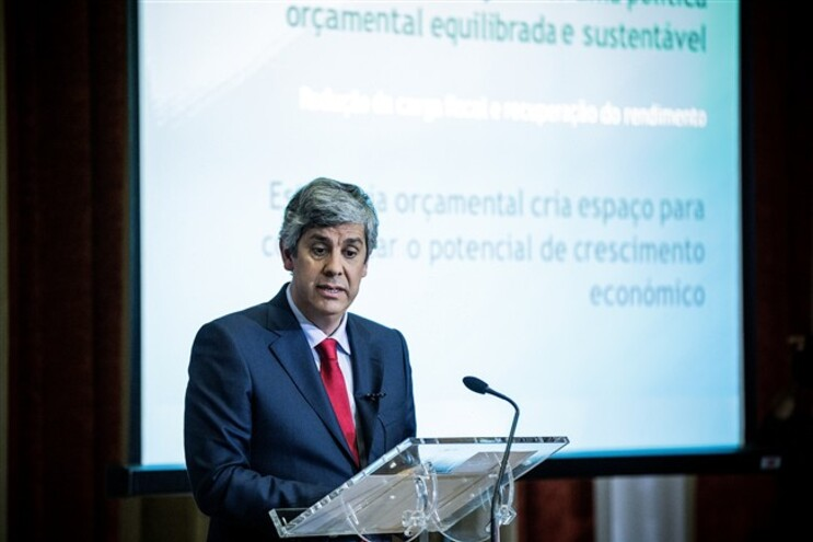 Foi Mário Centeno quem apresentou o OE 2016