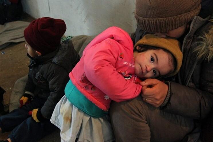 Duas refugiadas morrem de frio na Bulgária