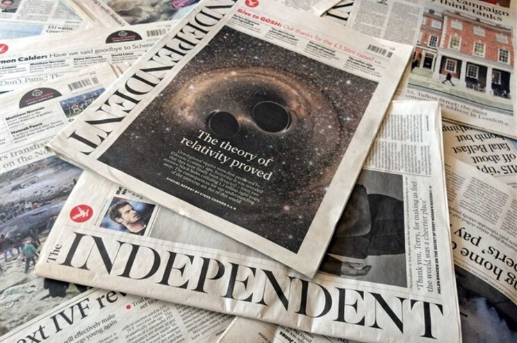"Jornal britânico ""The Independent"""