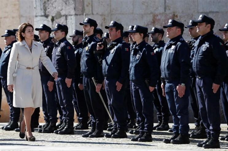 Constança Urbano de Sousa na cerimónia dos 149 anos do Comando Metropolitano de Lisboa da PSP