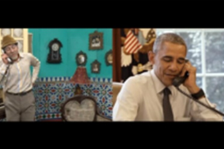 Barack Obama em programa de humor cubano