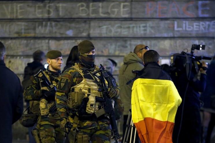 Segurança reforçada na Bélgica