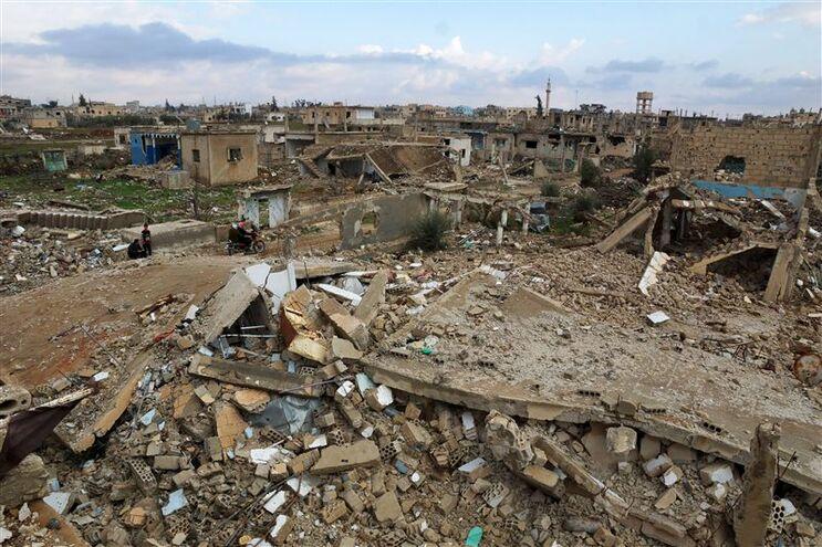Guerra na Síria tem deixado rastro de destruição