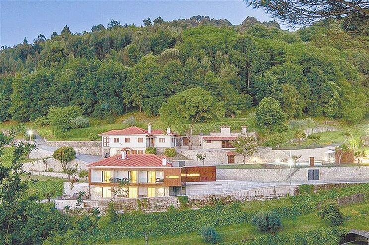 Quinta do Fontelo, em Queirã, é propriedade de Idalécio Oliveira