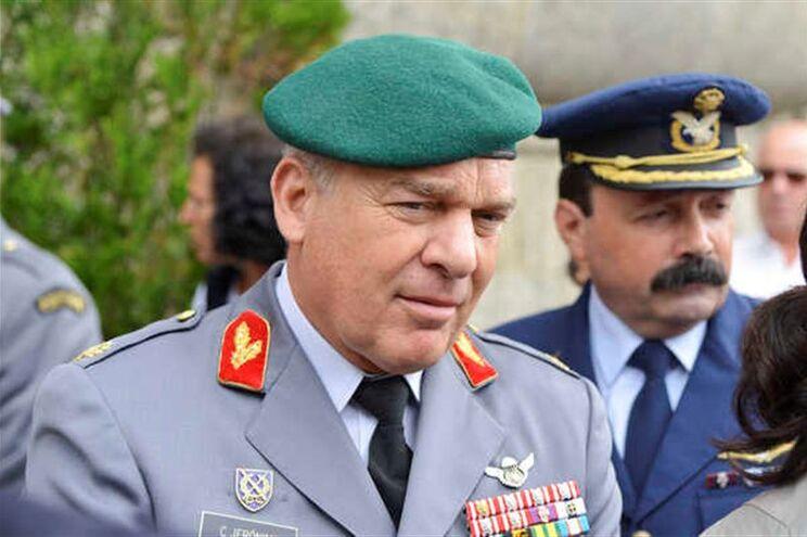 General Carlos Jerónimo foi empossado em 2014