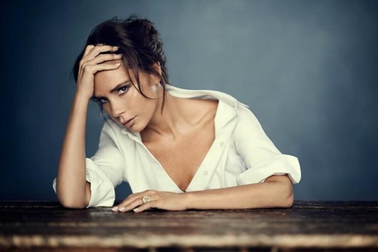 """Victoria Beckham numa produção para a """"Vogue"""" chinesa, em 2015"""