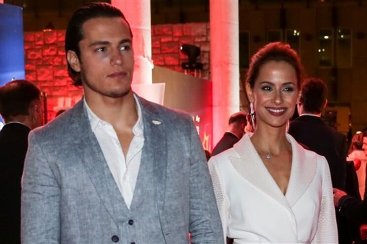 João Mota e Mariana Monteiro juntos na mesma novela