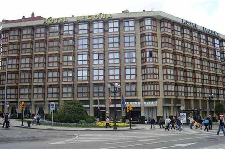Hotel Begona, no centro de Gijon