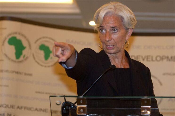 Christine Lagarde, diretora FMI, signatária do Manifesto