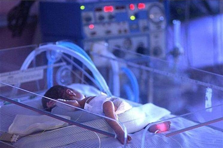 Bebé nasceu com 2350 quilogramas