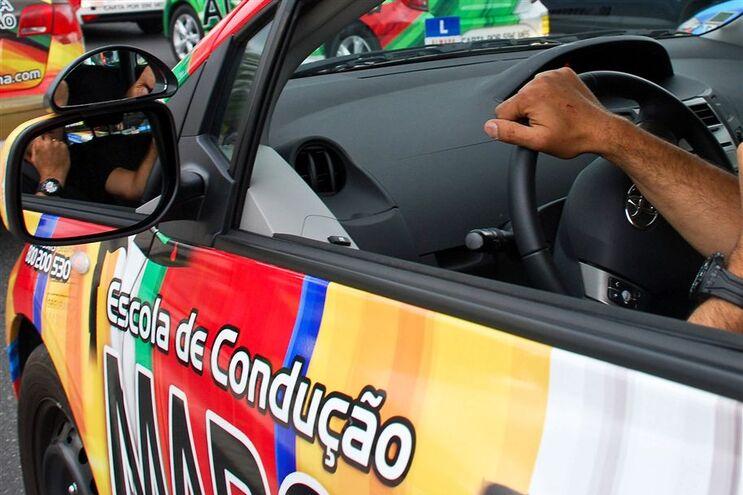 A introdução de aparelho de vigilância no interior dos veículos durante os exames de condução deve ser