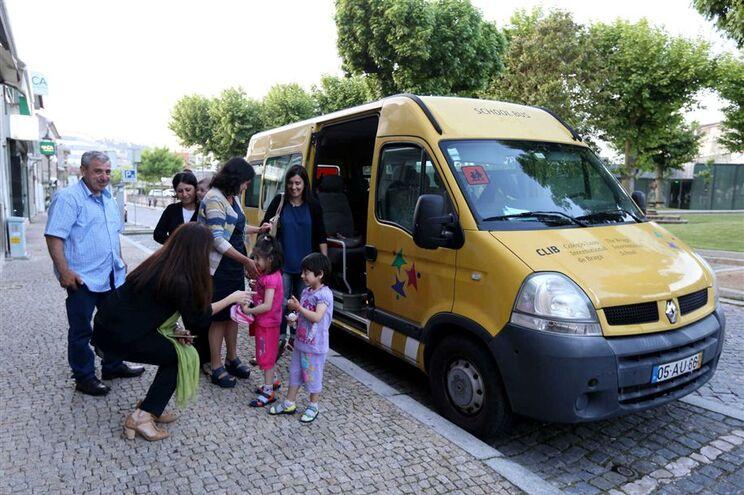 Em maio, alguns refugiados foram instalados em Vila Verde