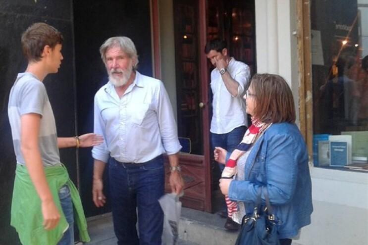 O ator Harrison Ford esteve recentemente em Portugal