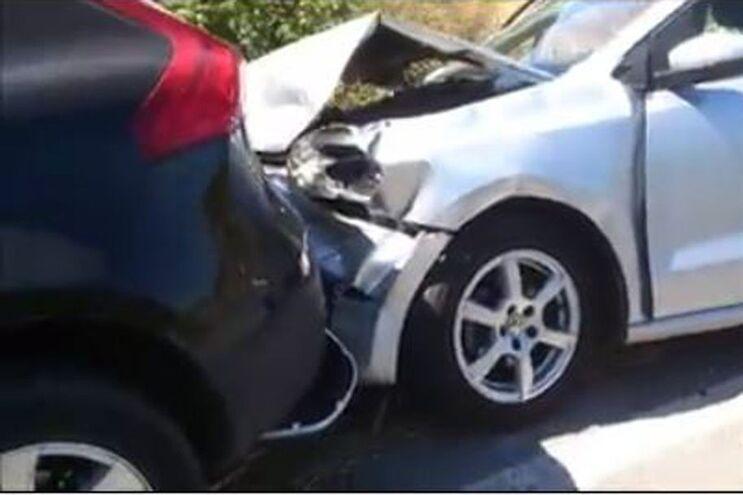 Ambientalista diz que o seu carro foi abalroado, com o seu filho de 10 anos no interior