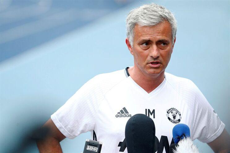 José Mourinho, treinador do Manchester United
