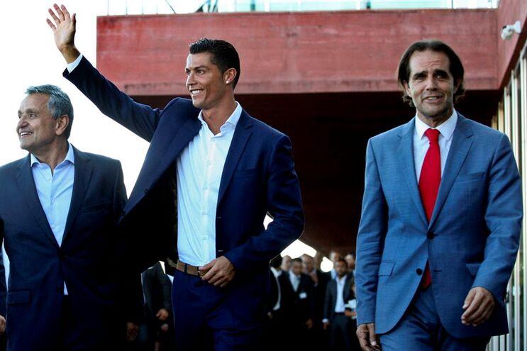 Cristiano Ronaldo esteve no Funchal durante as férias (22 de julho)
