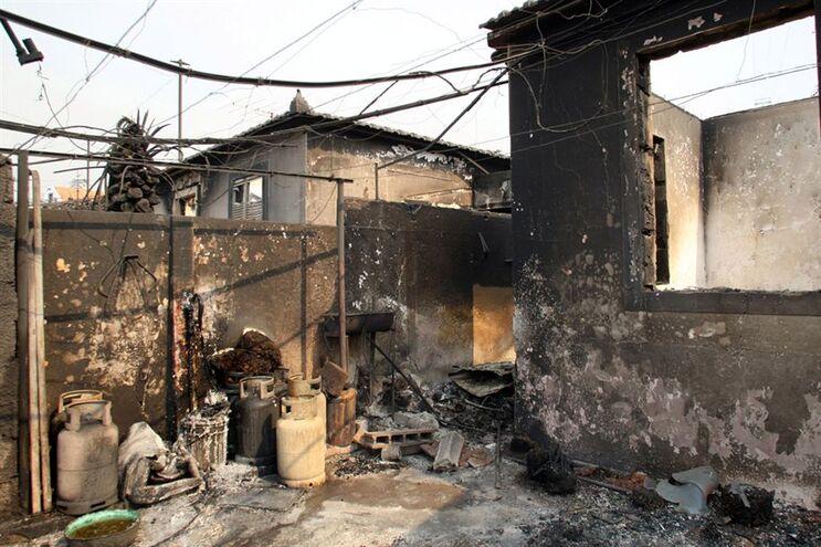 208 edifícios públicos e privados afetados pelos fogos no concelho, estando 105 totalmente destruídos