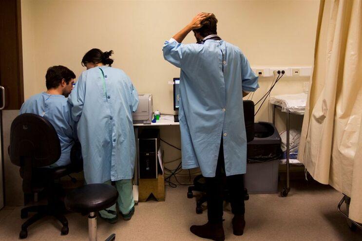 No primeiro semestre deste ano existiam 118741 profissionais de saúde em Portugal continental
