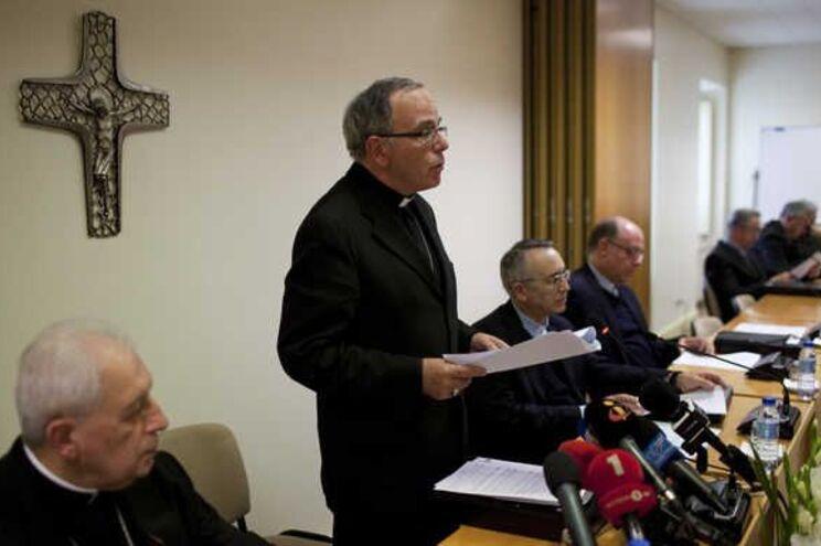 Assembleia Plenaria da Conferência Episcopal Portuguesa, com Dom Manuel Clemente, presidente da Conferência