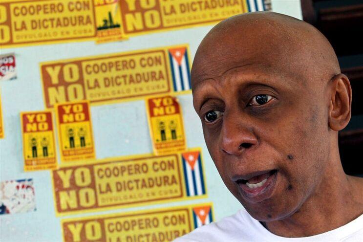 Ativista cubano Guillermo Fariñas