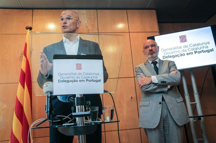 Raül Romeva, responsável pelas relações internacionais do governo catalão