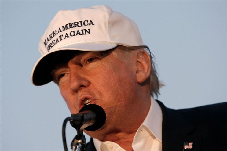 Candidato republicano à Casa Branca, Donald Trump