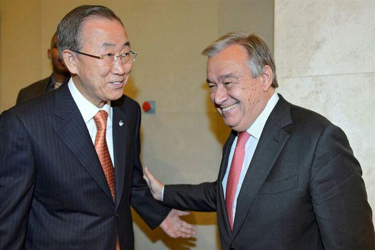 António Guterres irá suceder ao sul-coreano Ban Ki-moon