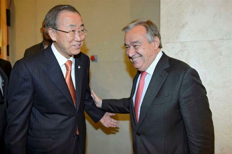 Guterres deverá suceder a Ban Ki-moon