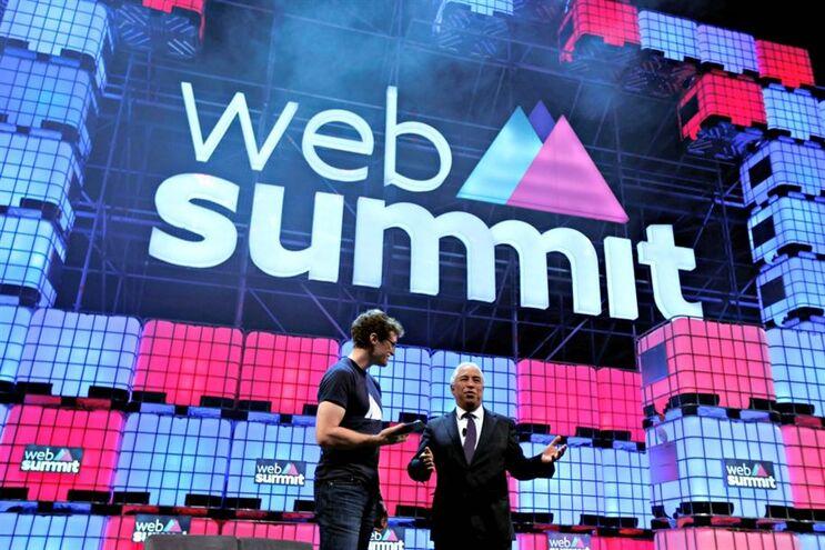 Decorre esta noite o Web Summit, no Meo Arena, no Parque das Nações, em Lisboa.