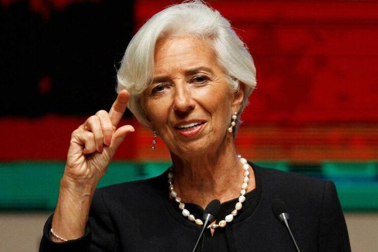 Christine Lagarde, diretora do Fundo Monetário Internacional