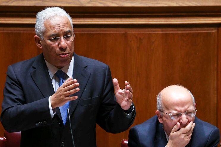 Primeiro-ministro, António Costa, no debate quinzenal