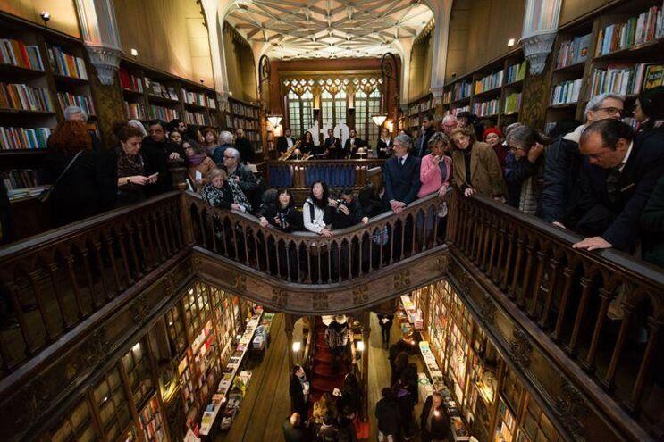 Mais de um milhão de pessoas visitaram a Livraria Lello em 2016