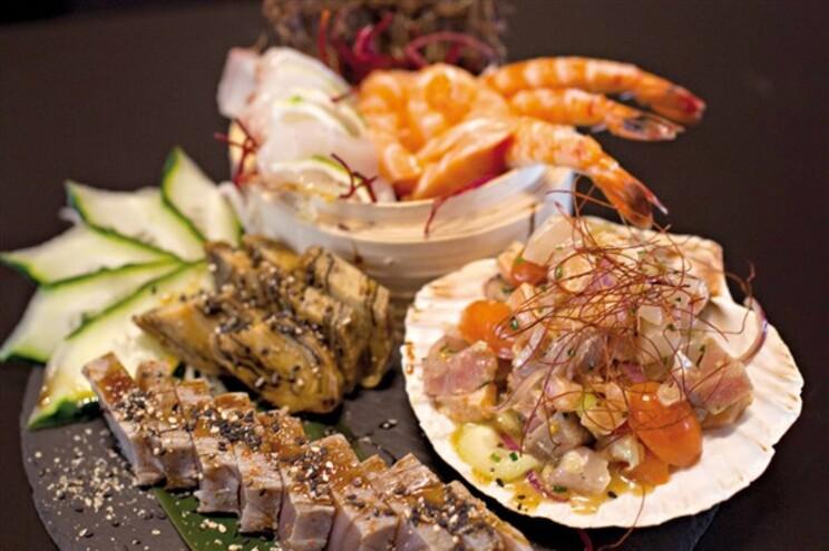 Sushi a uns passos do mar