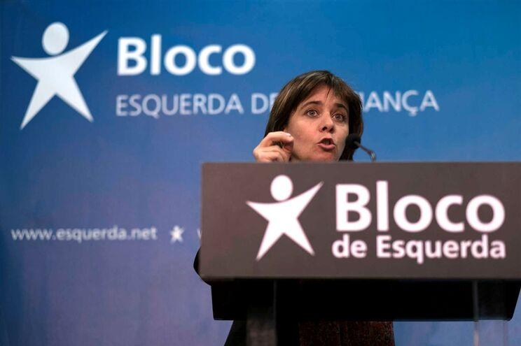 Coordenadora do Bloco de Esquerda, Catarina Martins