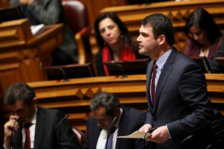 Deputado do Partido Socialista (PS), João Paulo Correia