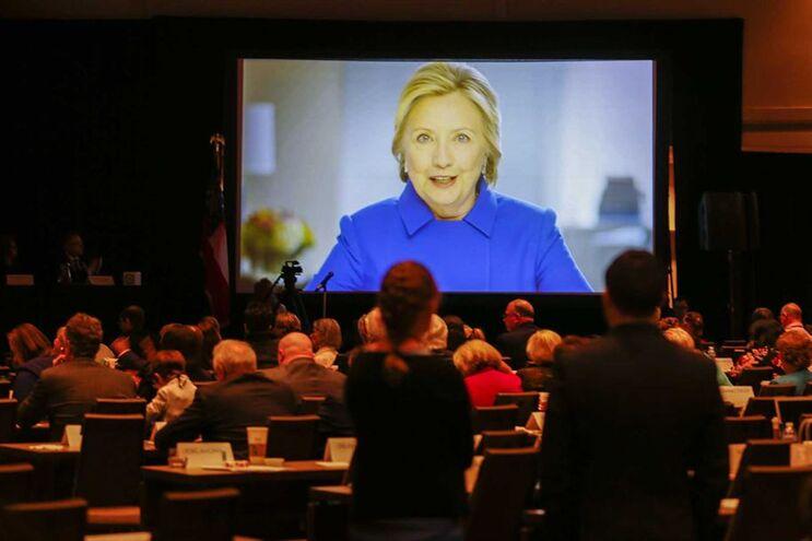 Partido democrata reunido em Atlanta