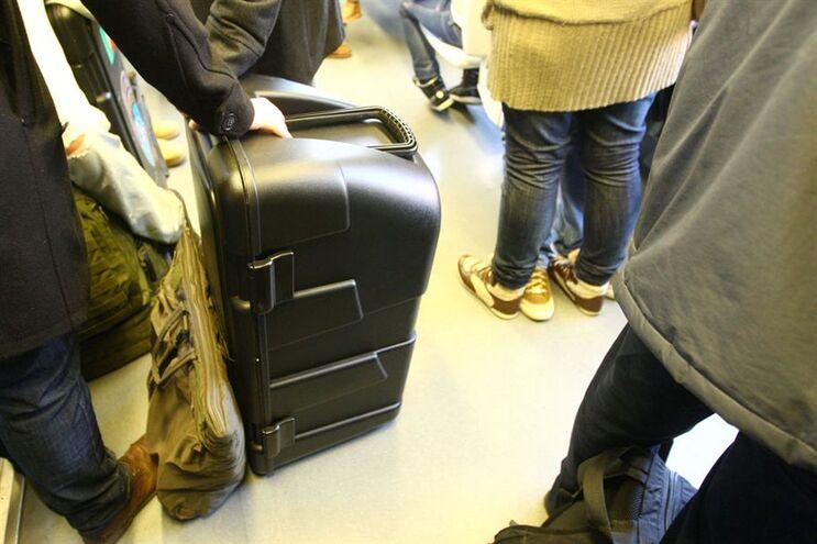 Detido preparava-se para embarcar num voo internacional
