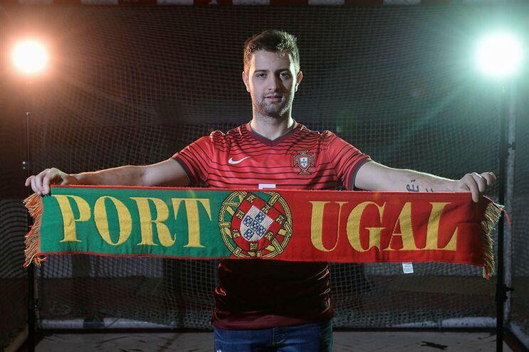 Tiago Brito marcou um dos golos de Portugal