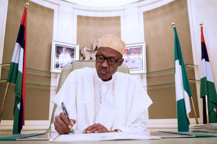 Presidente da Nigéria Muhammadu Buhari