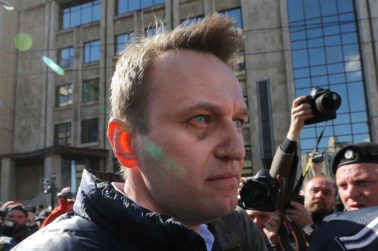 Navalny, 40 anos, anunciou em dezembro a sua intenção de desafiar Vladimir Putin nas presidenciais do