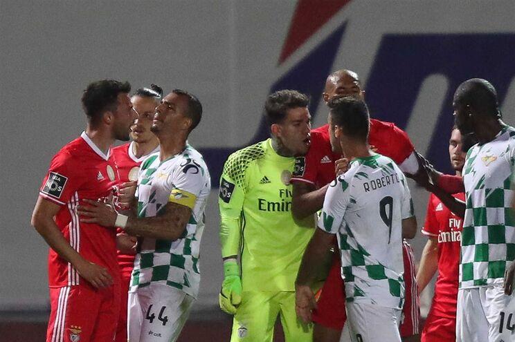 Samaris agrediu Diego Ivo, do Moreirense, na 28.ª jornada da Liga