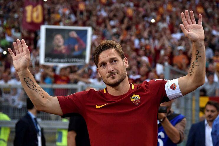 Totti despediu-se dos relvados aos 40 anos
