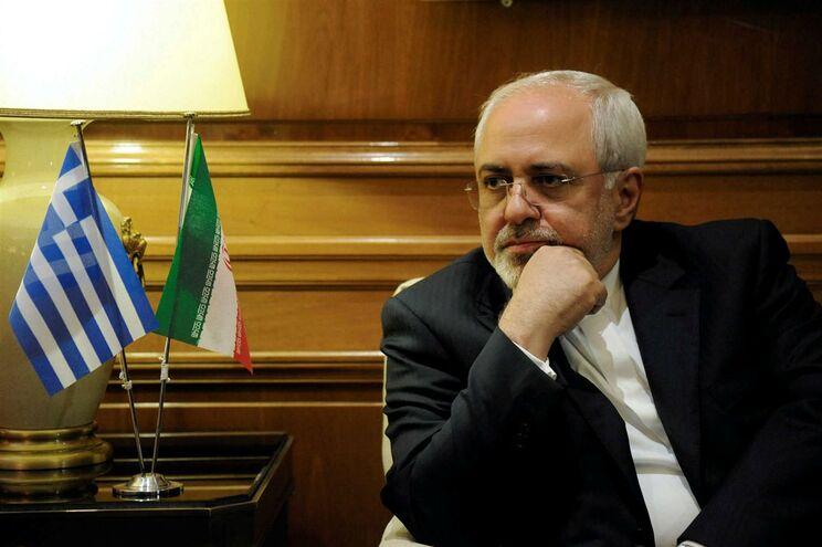 O ministro dos Negócios Estrangeiros iraniano, Mohammad Javad Zarif
