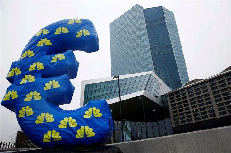 Sede do Banco Central Europeu, em Frankfurt