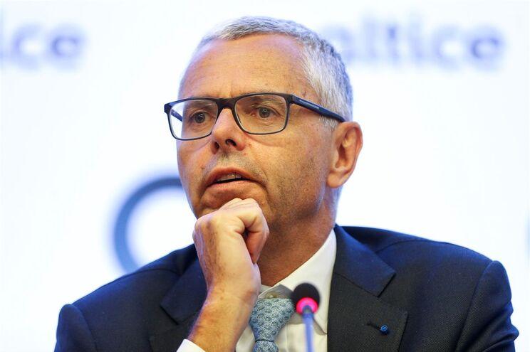 Presidente executivo do grupo Altice, Michel Combes