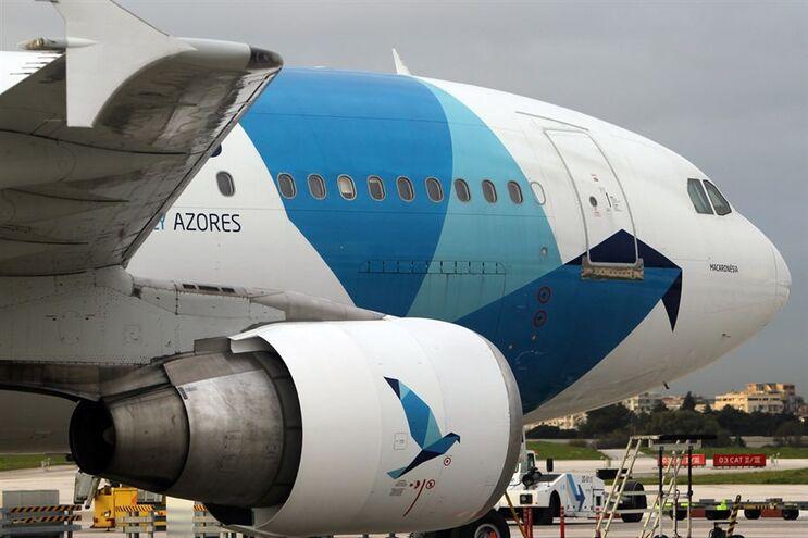 Avião da companhia açoriana SATA