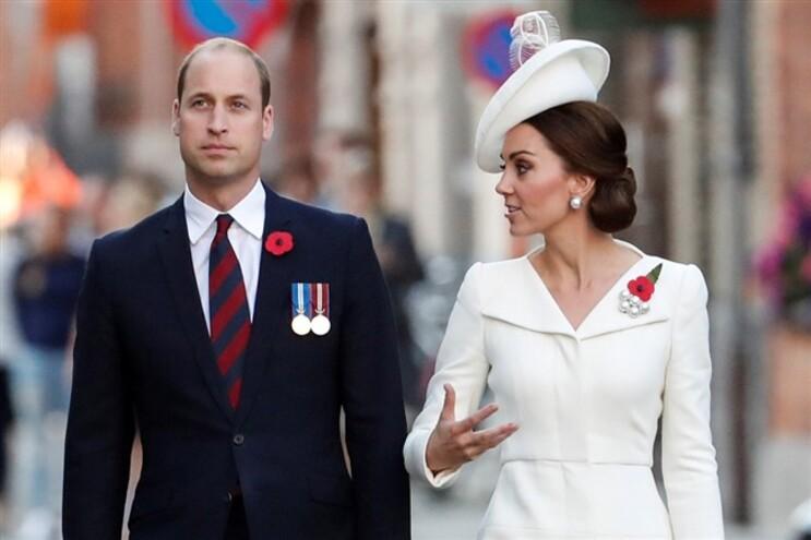 Kate Middleton está grávida do terceiro filho