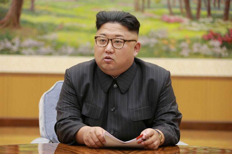 O líder norte-coreano, Kim Jong Un
